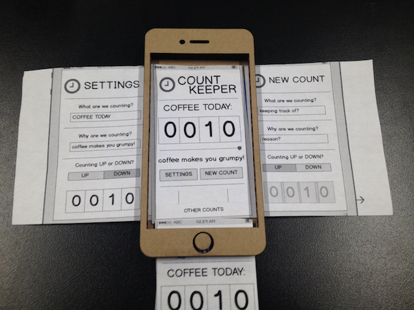 iphone physical proto - counter