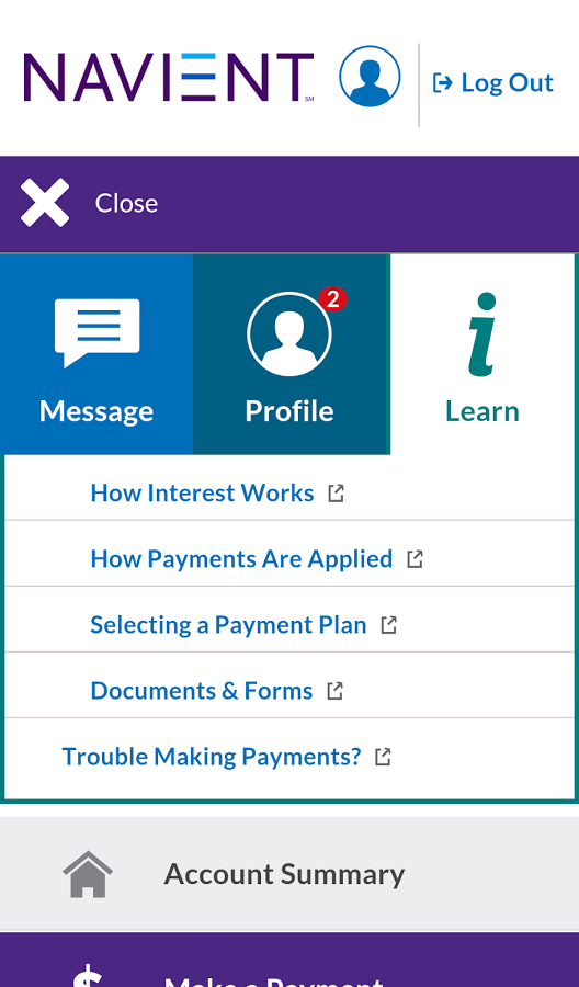 navient new mobile